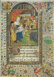 Aanbidding van de Koningen, getijdenboek