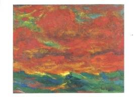 Hemel en zee, Emil Nolde