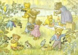Teddyberen en bramen, Molly Brett
