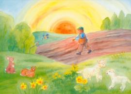 Pasen/Voorjaar, Dorothea Schmidt DIN A3