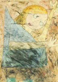 Engel nog op de tast, Paul Klee
