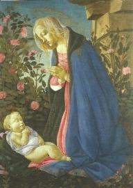 Aanbidding van het kind, Sandro Botticelli