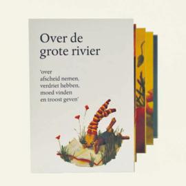 Troostboekje 'Over de grote rivier', voor kinderen