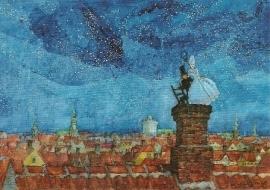 Op de schoorsteen, Svend Otto