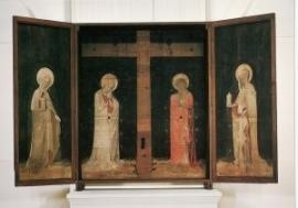 Westfaals altaarkast van een passiealtaar, 1415