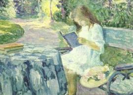 De lectuur, Henri Lebasque