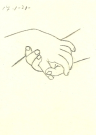 Verstrengelde handen, Pablo Picasso