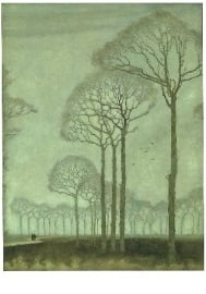 Bomenrij, Jan Mankes