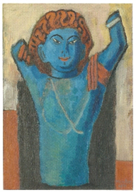 De blauwe demon, Gabriele Münter