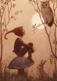 Elf en uil, Margaret Tarrant