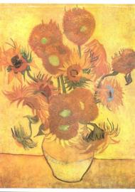 15 zonnebloemen, Vincent van Gogh