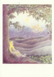 Het meisje en de duif, A. Hewel