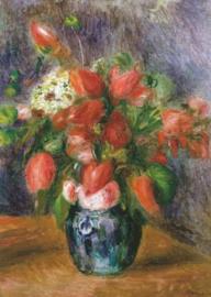 Vaas met bloemen, Pierre-Auguste Renoir