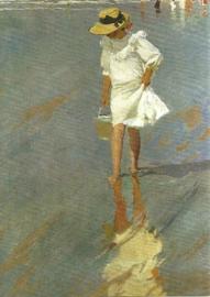 Elena bij Biarritz, Joaquín Sorolla