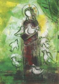 Heilige Franciscus, Christel Holl