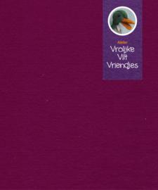 Wolvilt paars-rood 7