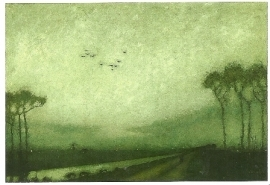 Avondschemering, Jan Mankes