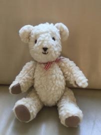 Teddybeer, handgemaakt (34 cm)