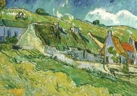 Aaneengesloten huisjes, Vincent van Gogh