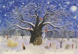 Kerstmis-boom, E. Heuberger