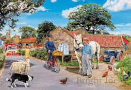 Puzzle Olive house farm ( 100 st)