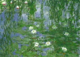 Waterlelies, Claude Monet (2)