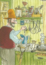 Pettson met Findus in de keuken, Sven Nordqvist