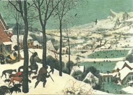 Jagers in de sneeuw, Pieter Brueghel de Oudere