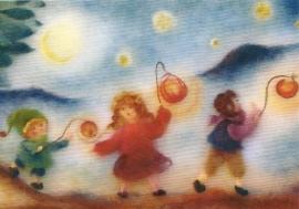 Kinderen met lampionnen, Franziska Sertori-Kopp