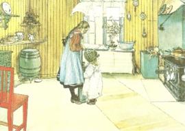 Keuken, Carl Larsson