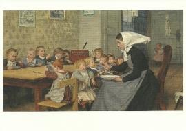 Kinderopvang, Albert Anker