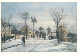 Weg naar Versailles, Camille Pissarro