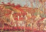 De rode daken, Camille Pissarro