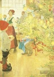 Het is weer Kerstmis, Carl Larsson