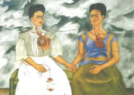 De twee Frida's, Frida Kahlo