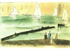 Regatta, Lyonel Feininger