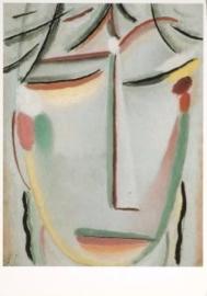 Heiligengezicht voor Rosa Hintergrunf, Alexej von Jawlensky