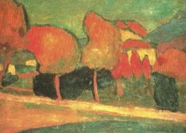 Landschap-Murnau, Alexej von Jawlensky
