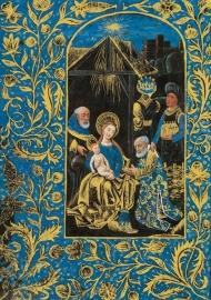 Blauwe Driekoningen, zwarte getijdenboek