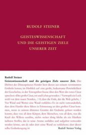 Geisteswissenschaft und die geistigen Ziele unserer Zeit GA 69e / Rudolf Steiner