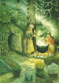 Vrouwen koken boven open vuur, Inge Löök