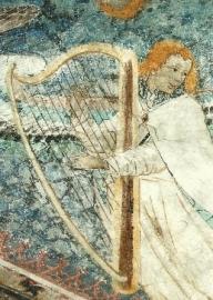 Engel met harp, Meester Thomas