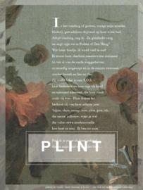 Poëzieposter Plint 'Is het vandaag of gistren'