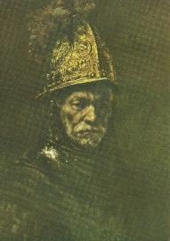 Man met gouden helm, Rembrandt