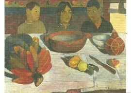 Maaltijd/ Stilleven met bananen, Paul Gauguin