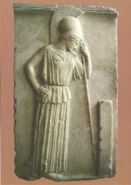 Denkende Athene, Grieks