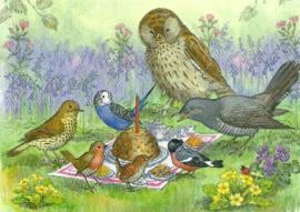 Vogelpicknick, Molly Brett