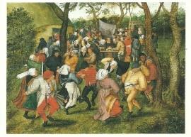 Boerenbruiloft, Pieter Brueghel de jongere
