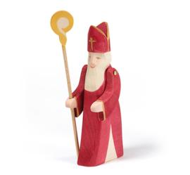 Sinterklaas beweegbare armen en staf