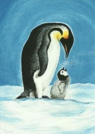 Pinguin met jong, Heike Stinner